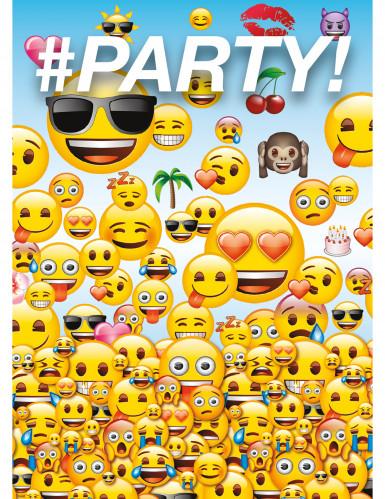 8 Carte d'invito Emoji™