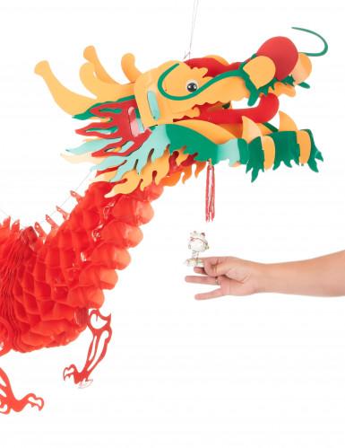 Decorazione drago rosso Capodanno cinese-2