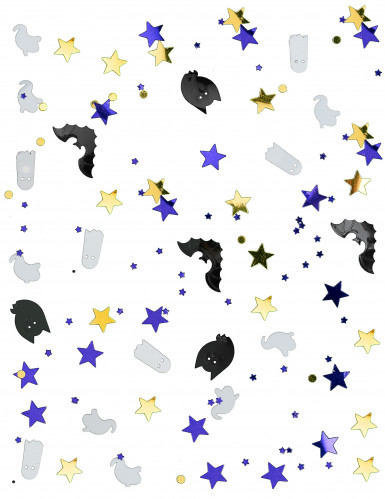 Coriandoli con fantasmi e pipistrelli