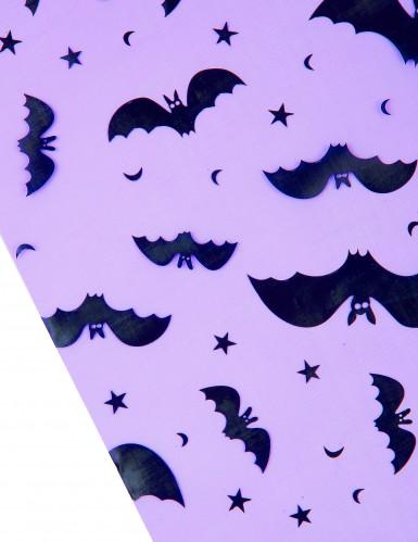 Runner da tavola pipistrelli color viola-1