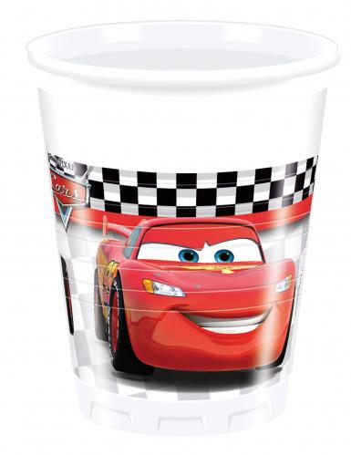 8 bicchieri di plastica di Cars Formula™