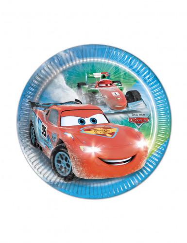 8 piattini di carta Cars Ice™
