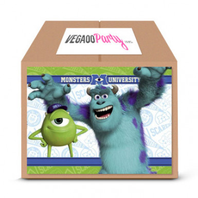 Kit di compleanno Classic Monsters University™ 8 bambini