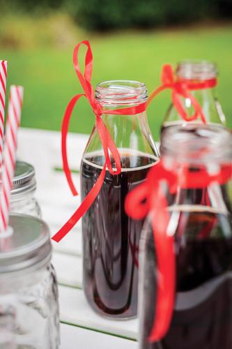 Bottiglia di vetro Candy Bar 21 cm-1