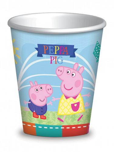 8 bicchieri di carta Peppa Pig™