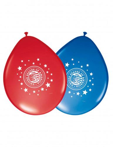 8 palloncini di lattice Stati Uniti