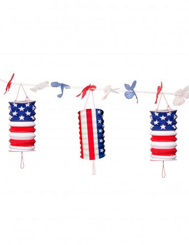 Ghirlanda con lanterne USA