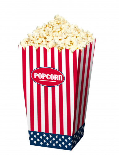 4 scatole per pop corn USA
