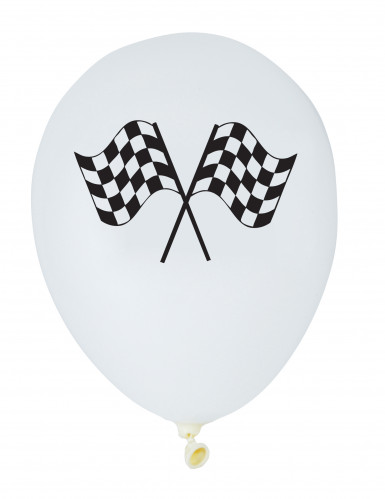 6 palloncini di lattice Racing