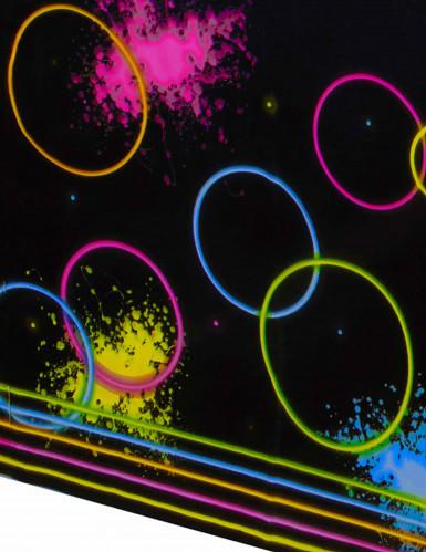 Tovaglia di plastica Fluo Party-1