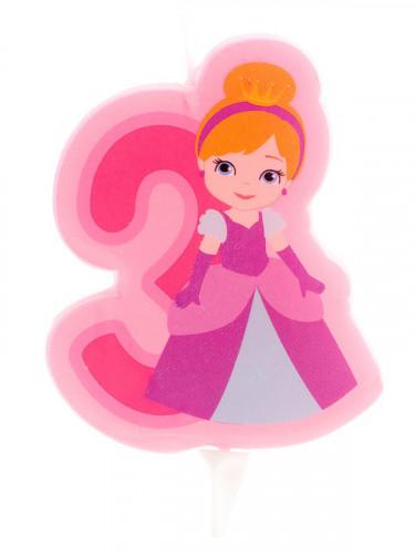 Candelina con principessa numero 3