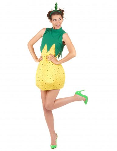 Travestimento da ananas per donna