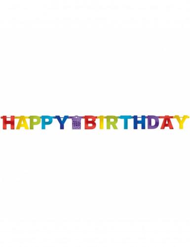 Ghirlanda Happy Birthday multicolore-1