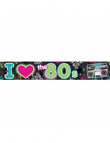 Striscione anni '80