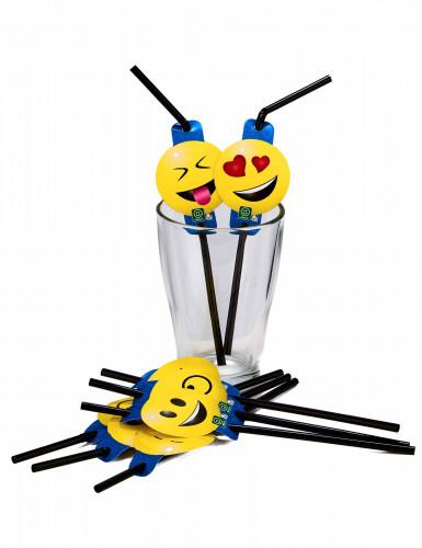 8 cannucce con emoticons Imoji™-1