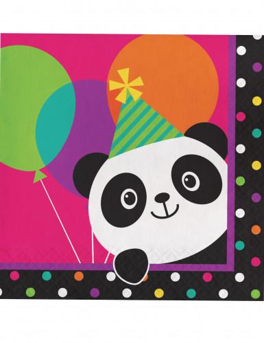 16 tovaglioli Panda Party