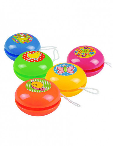 5 mini yoyo colorati