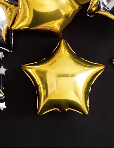 Palloncino alluminio stella dorata 45 cm-4