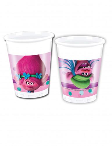8 bicchieri di plastica Trolls™