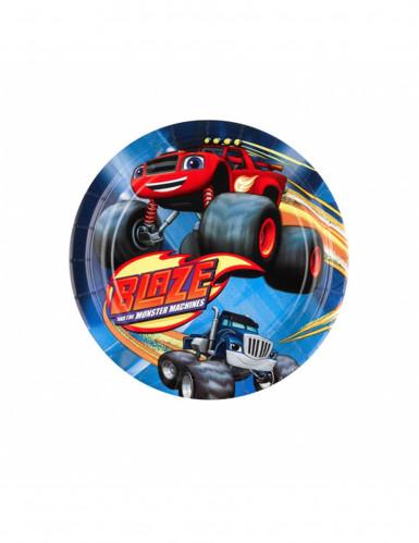 8 piattini di Blaze e le mega macchine™ da 18 cm