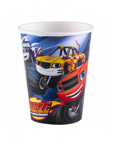 8 bicchieri di carta Blaze e le mega macchine™ 266 ml