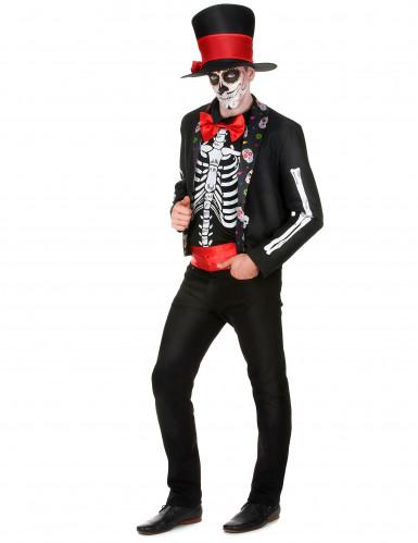 Costume da scheletro chic per uomo-1
