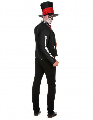 Costume da scheletro chic per uomo-2