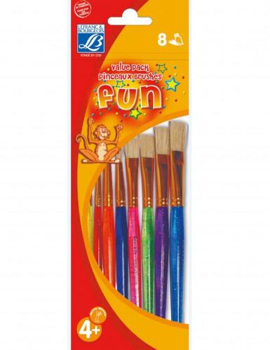 8 pennelli di diversi colori Lefranc & Bourgeois®