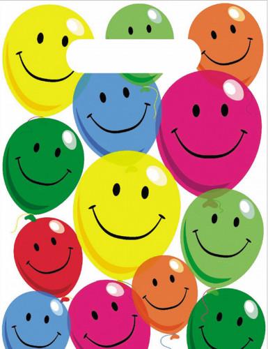 6 sacchetti di plastica Smile