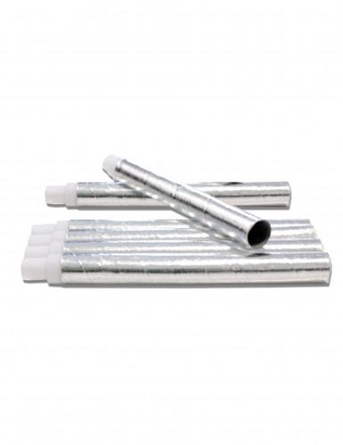 6 cerbottane color argento