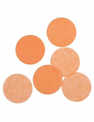 Coriandoli di carta color pesca ignifughi-1