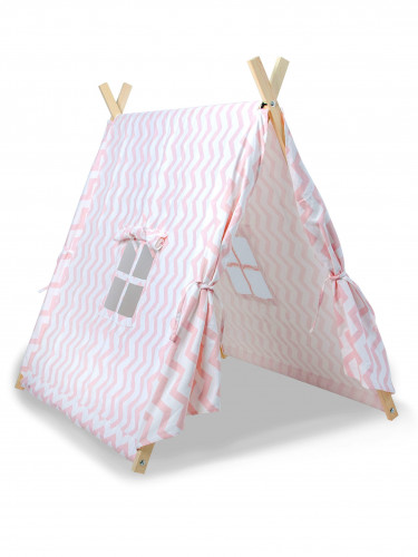 Tenda canadese rosa per bambini