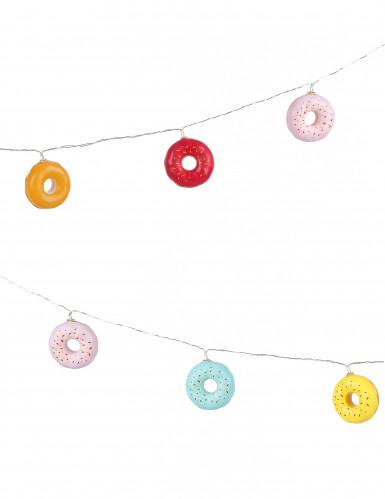 Ghirlanda luminosa con donuts