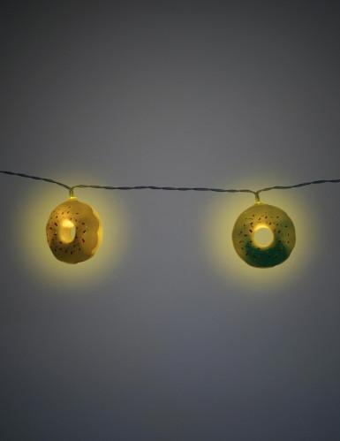 Ghirlanda luminosa con donuts-1