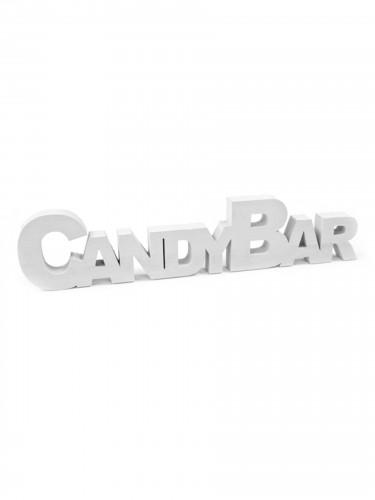 Decorazione da tavola in legno Candy Bar