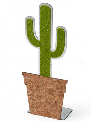 Cactus decorativo in metallo