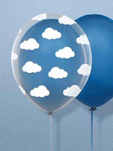 6 palloncini trasparenti con nuvolette-1