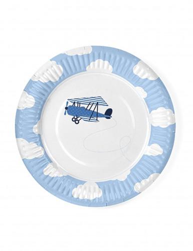 6 piattini piccolo aviatore 18 cm