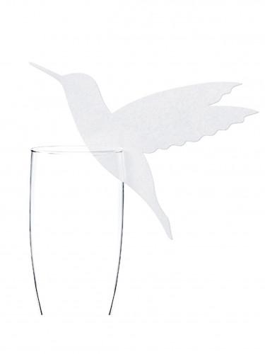 10 Segnaposto da bicchiere Colibrí