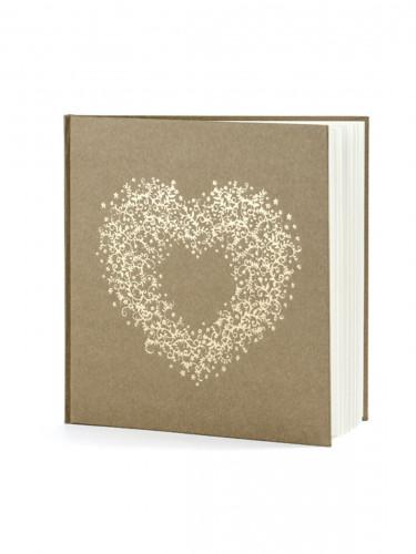 Libro firme kraft con cuore