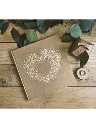 Libro firme kraft con cuore-1