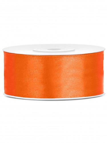 Nastro satinato arancione 25 mm