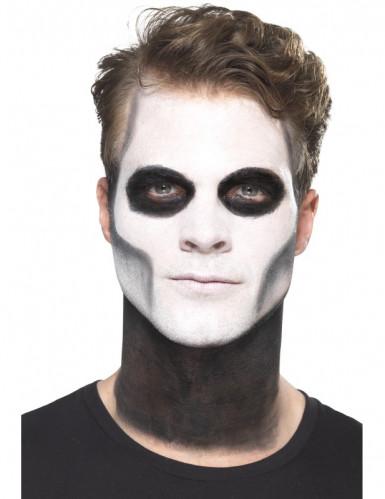 Kit trucco scheletro messicano Dia de los Muertos adulto-1