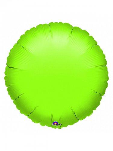 Palloncino in alluminio verde fluo 18 x 45 cm