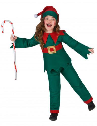 Costume da elfo di Natale bambino-1