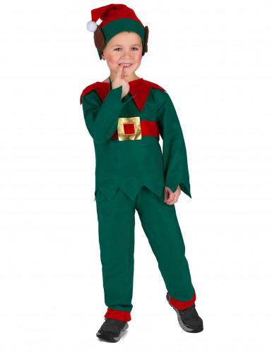 Costume da elfo di Natale bambino-2