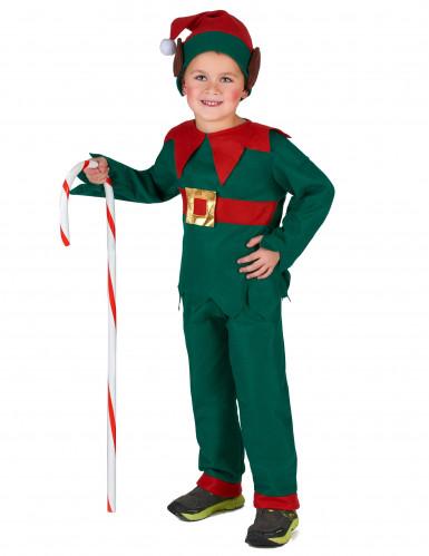 Costume da elfo di Natale bambino-3