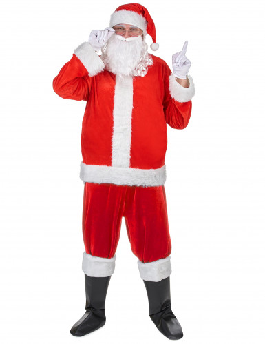Kit travestimento da Babbo Natale per adulto-2