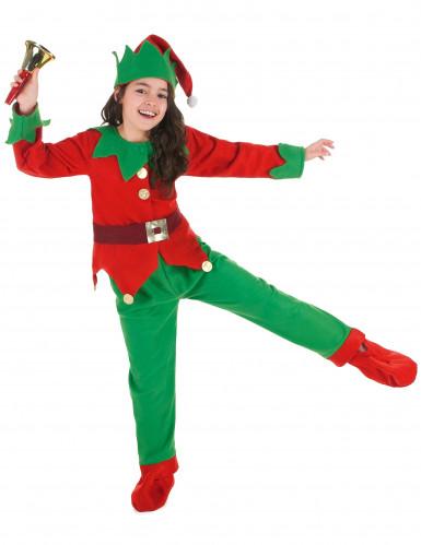 Costume da elfo natalizio per bambino
