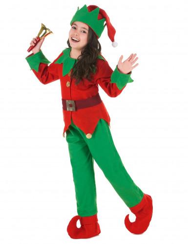 gamma esclusiva top design 2019 prezzo all'ingrosso Costume da elfo natalizio per bambino